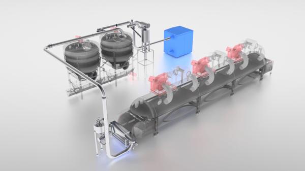Coctio VAC Pipe Conveyor module