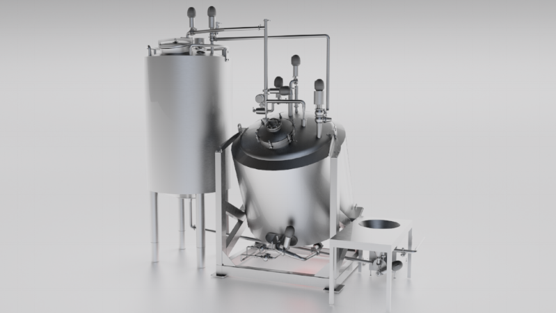 Automated broth, sauce and soup cooking systems and stand-alone equipment