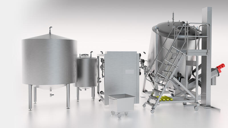 Coctio Mobile Line | All in One production line for bone broths, soups and sauces