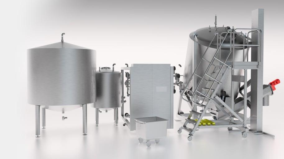 Coctio luuliemi- ja kastikelinjastot ja yksittäiset elintarvikevalmistuksen koneet