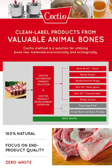 Coctio - Clean-label products from valuable animal bones