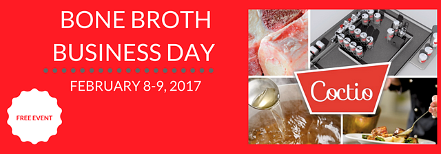 Coctio Bone Broth Business Day event in Finland