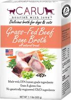 Caru - Bone broth product example for pet foods