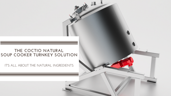Coctio Natural Soup Cooker Turnkey Solution