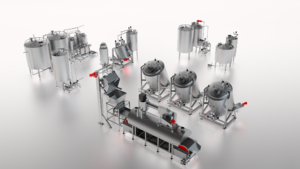 Coctio small line for high-quality natural bone broth, sauce and soup production