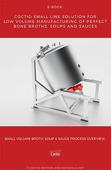 eBook - Coctio Small line solution for low volume manufacturing of perfect bone broths
