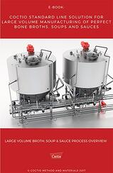 eBook - Standard Line solution for large volume manufacturing of perfect bone broths